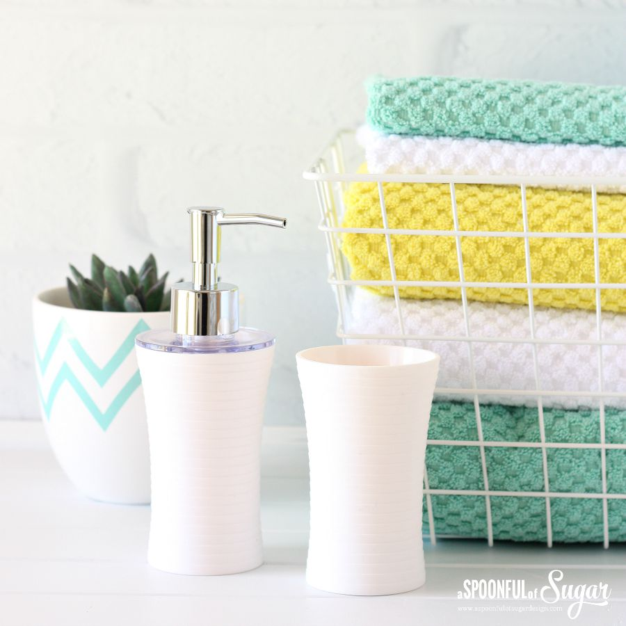 6 Ways to Refresh Your Bathroom for Spring - A Spoonful of Sugar