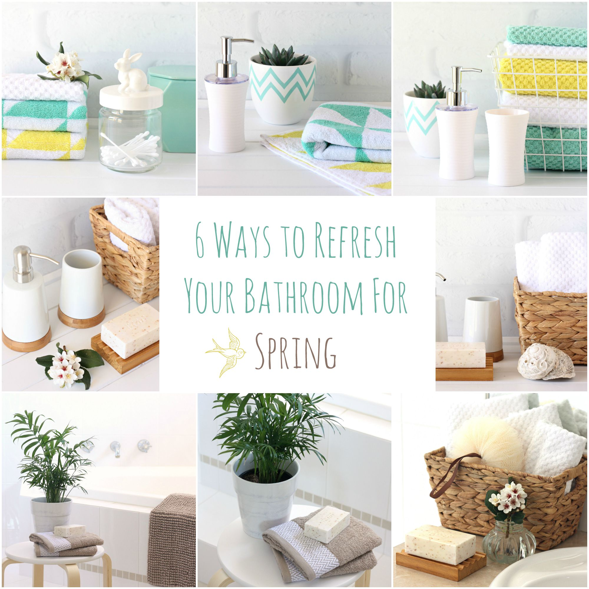 6 Ways To Refresh Your Bathroom For Spring