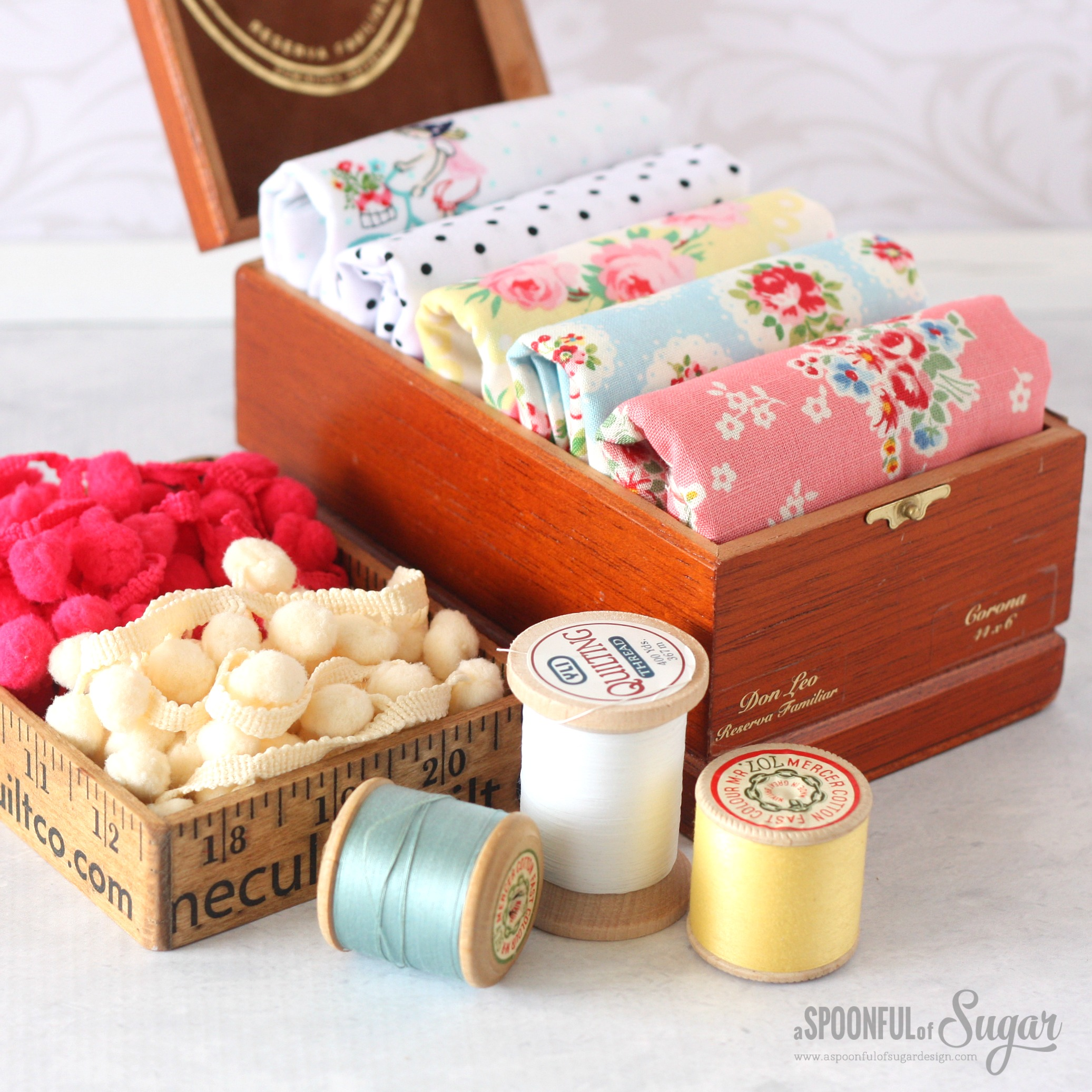 Summer Picnic Dolly Mixes Fat Quarter Bundle from Dolly Henry