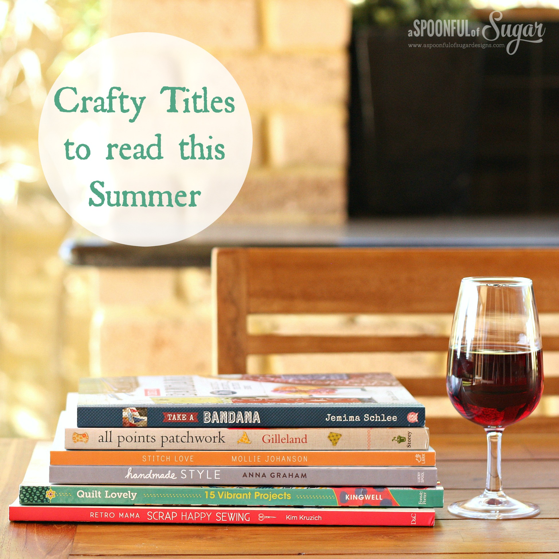 Crafty titles to read this summer