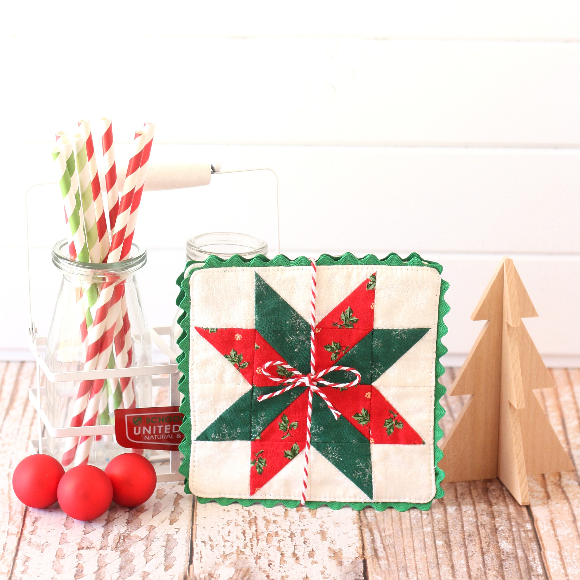 Christmas Star Coaster 2