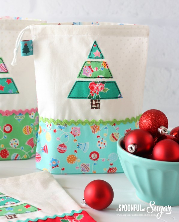 Christmas Treat Bags made using Flower Sugar Holiday