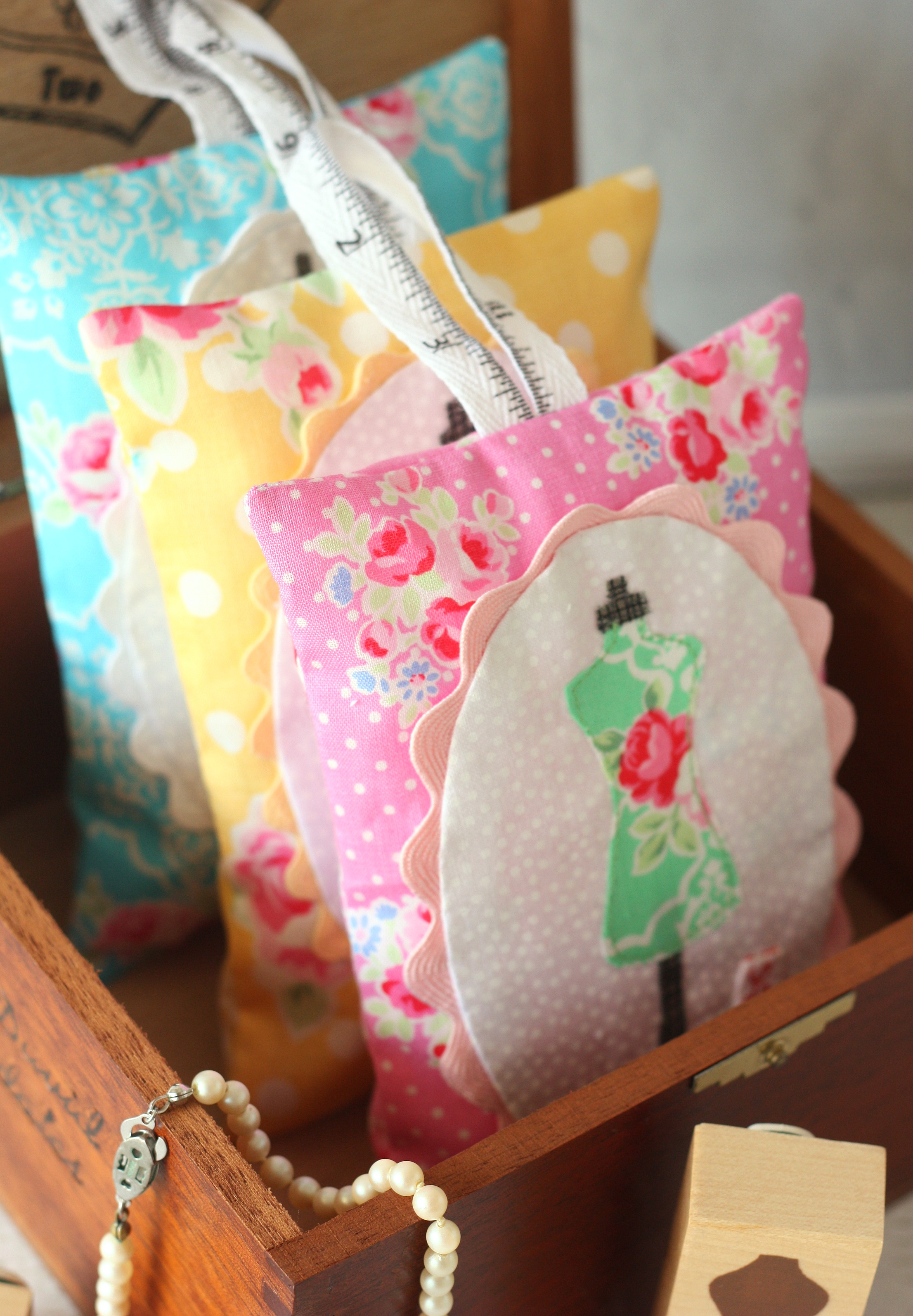 Dress Form Lavender Sachets, from A Spoonful of Sugar by Lisa Cox