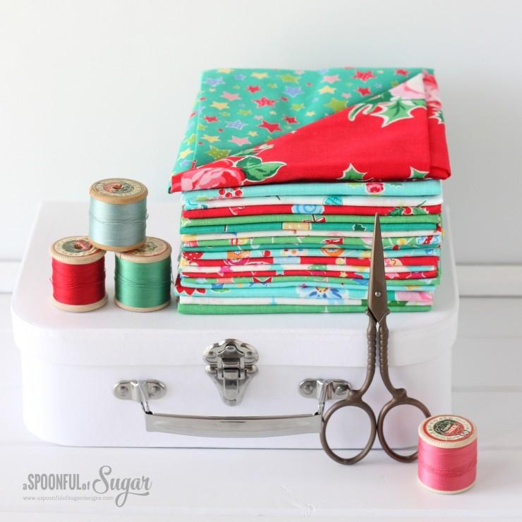 Flower Sugar Holiday by Lecien Fabrics