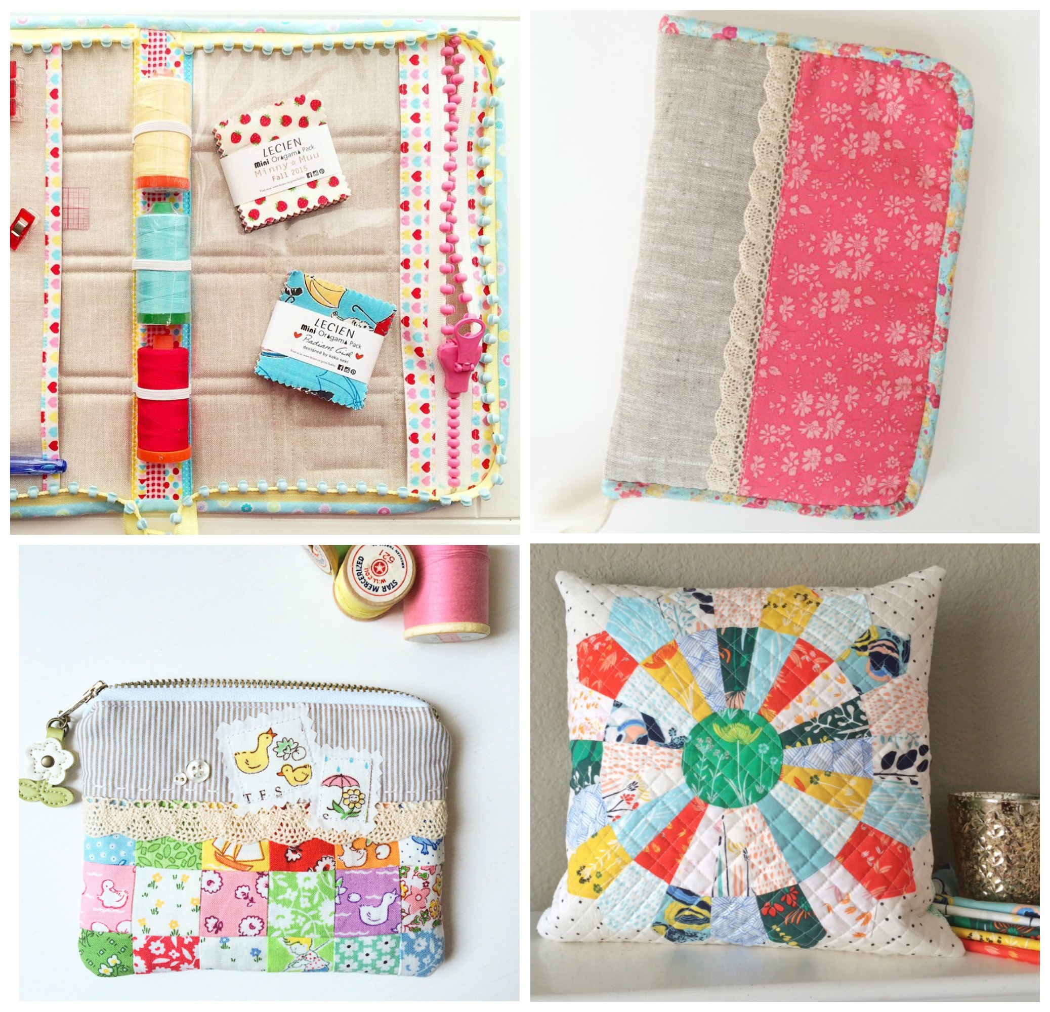 Zippered Sewing Travel Case and other items by Melissa LeRay of Oh How Sweet