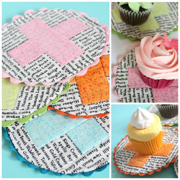 A Spoonful of Sugar Blog Tour - Criss Cross Coasters