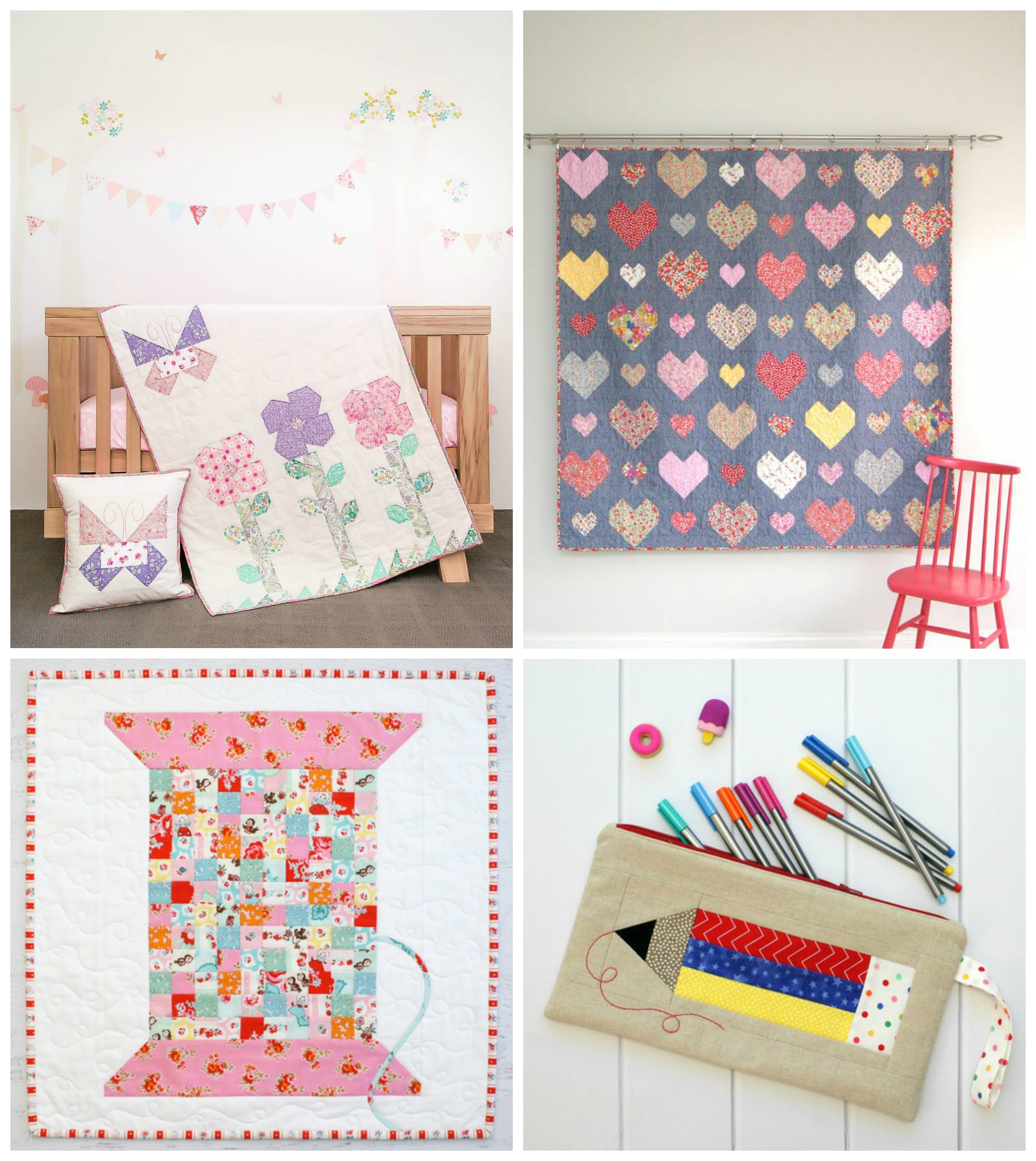 Quilt Patterns by Jemima Flendt of Tied With a Ribbon