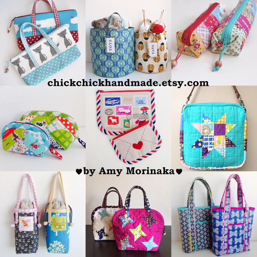 Zakka Sewing Patterns by chickchickhandmade.etsy.com