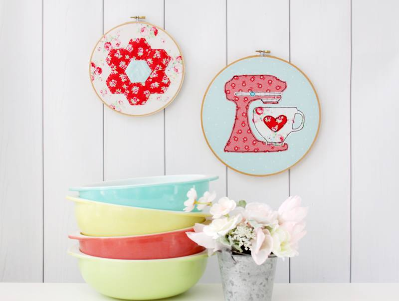 A Spoonful of Sugar Blog Tour - Love to Bake Wall Art
