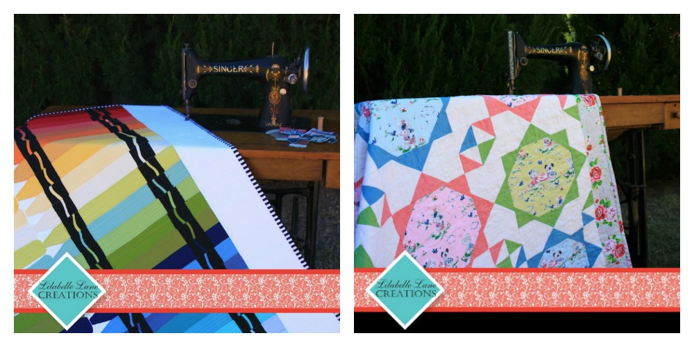 Quilt patterns by Lilabelle Lane Creations