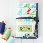 Patchwork Craft Tool Wrap + Giveaway