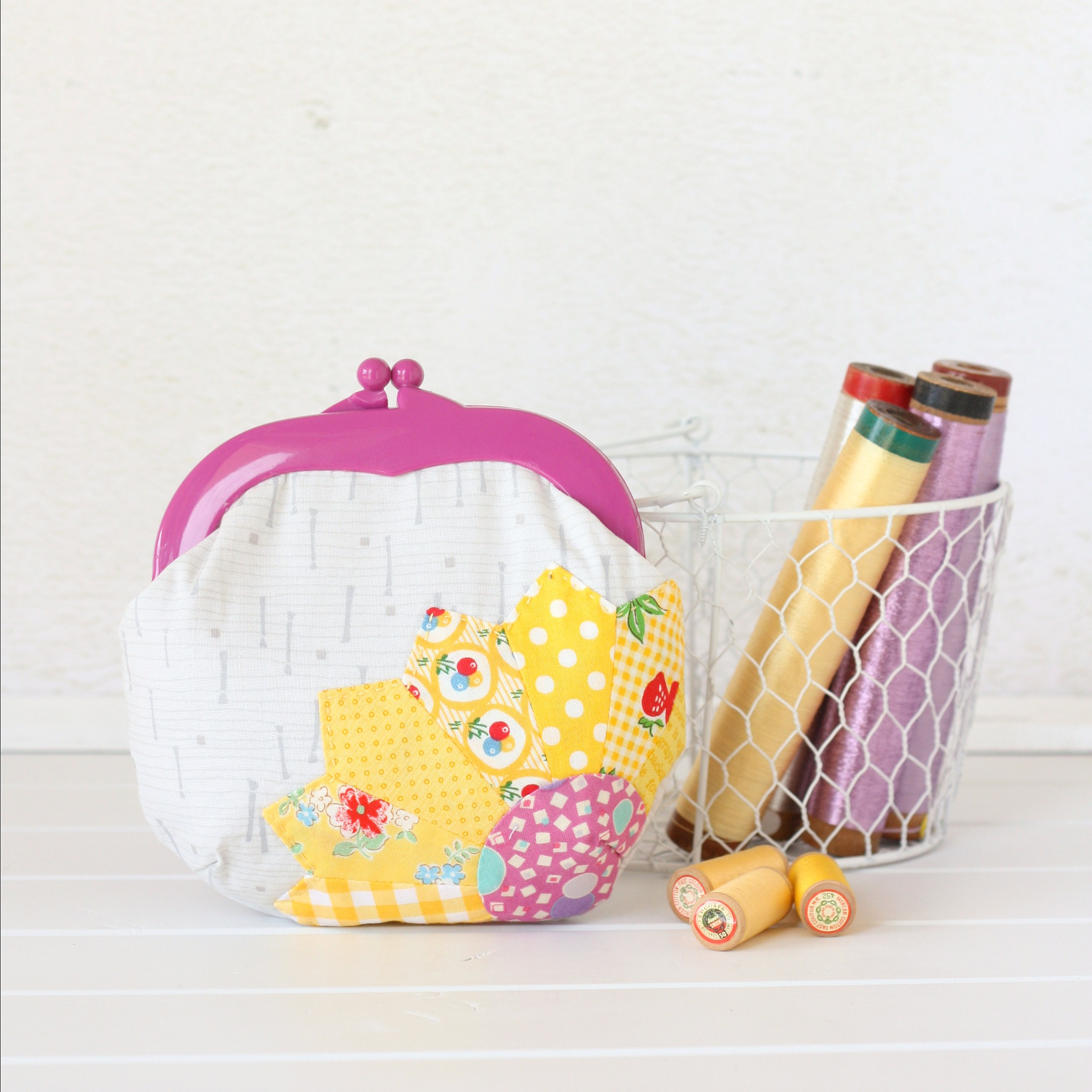 Jelly Clip Purse (featured in Homespun Magazine)