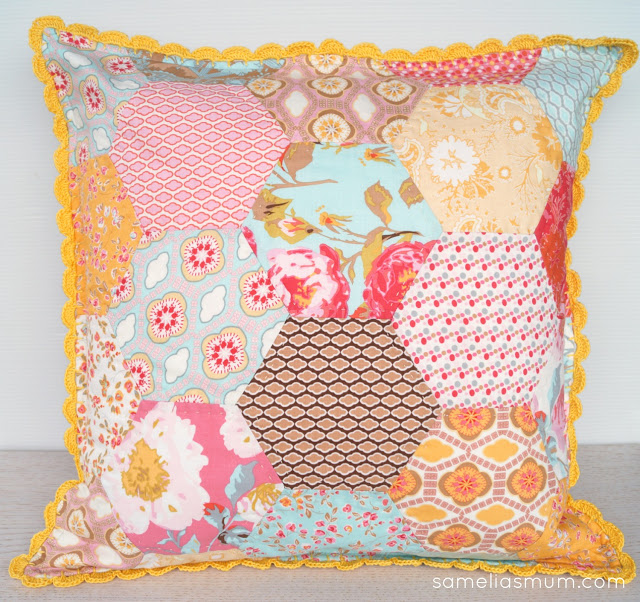 Retro Pillow Project from A Spoonful of Sugar