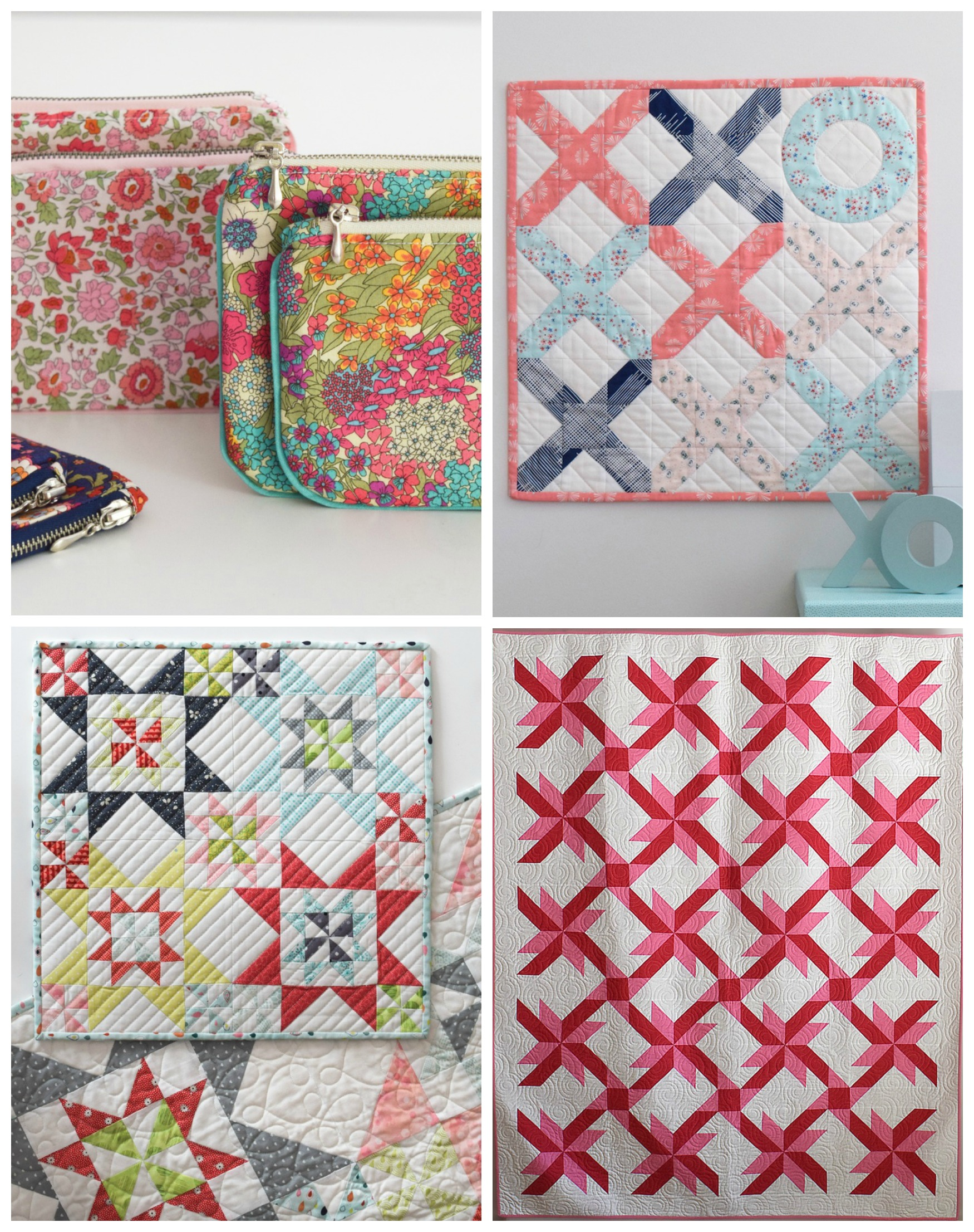Patterns by Peta Peace from She Quilts A Lot