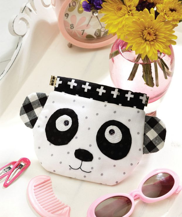 Panda Snap Pouch from A Spoonful of Sugar by Lisa Cox