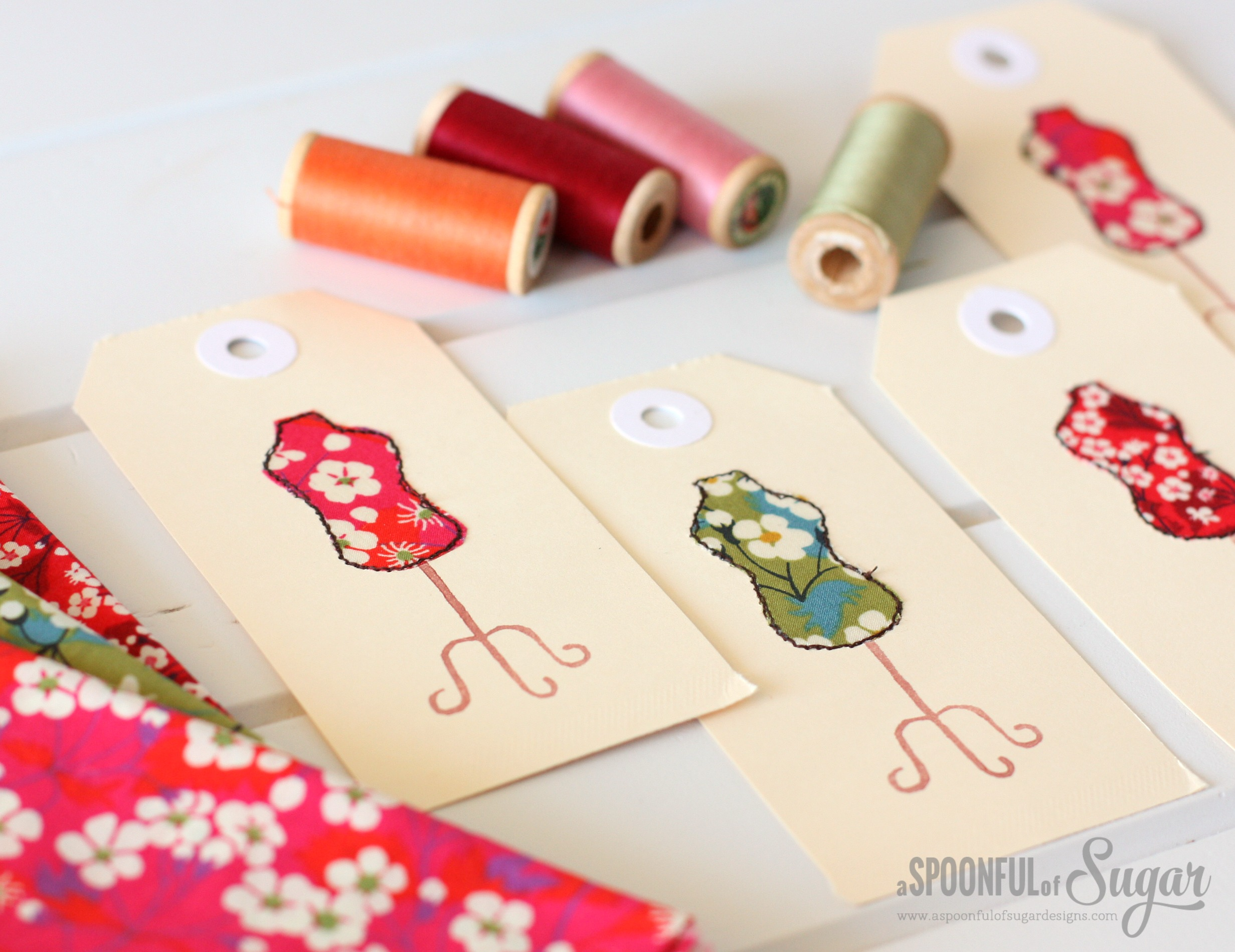 Dress Form Gift Tags - Top Sewing Tutorials from 2016 - A Spoonful of Sugar - www.aspoonfulofsugardesigns.com