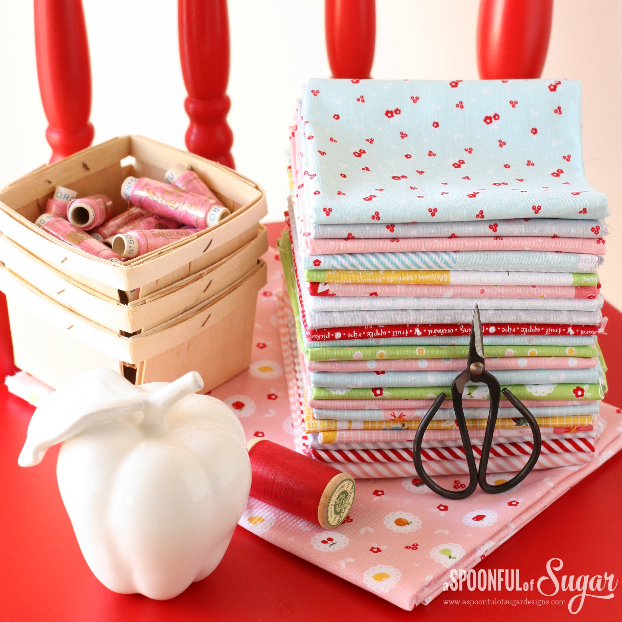 Sweet Orchard fabric by Sedef Imer for Riley Blake Designs