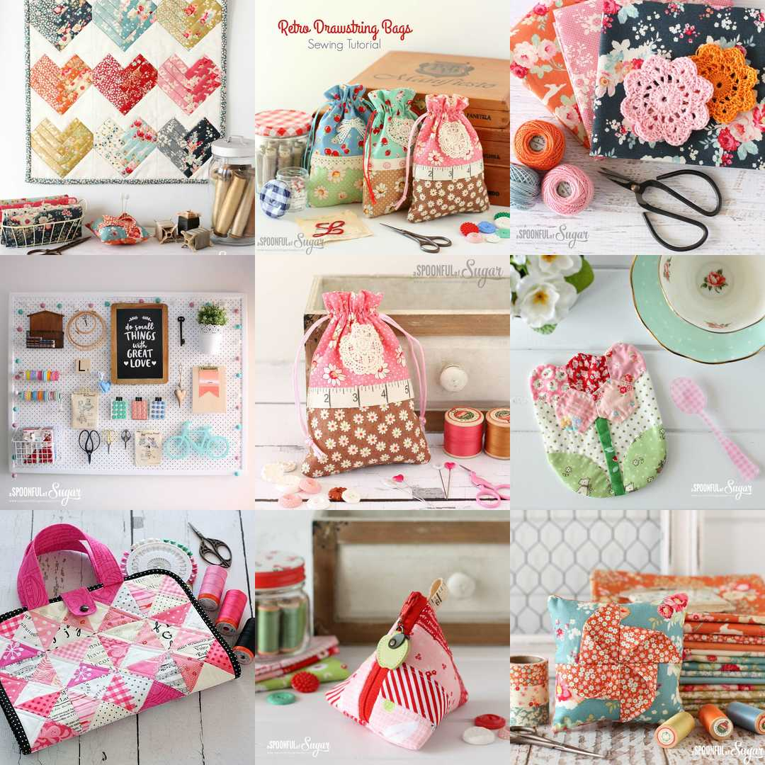 2016 Sewing Best Nine - Top Sewing Tutorials from 2016 - A Spoonful of Sugar - www.aspoonfulofsugardesigns.com