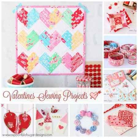 Valentines Sewing Projects A Spoonful Of Sugar