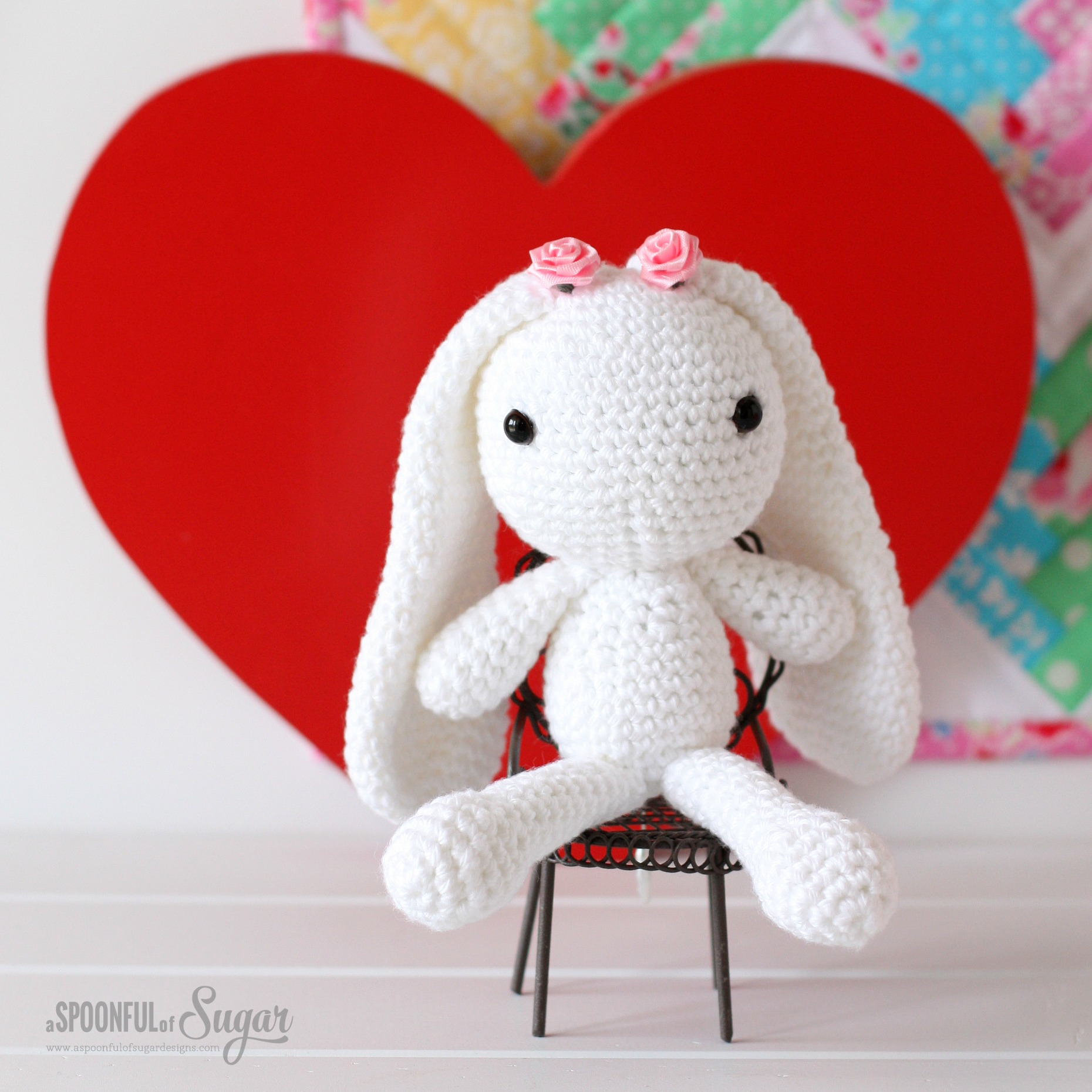 Wynne the Bunny - amigurumi pattern by Arabesque Scissors