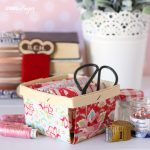 Fabric Covered Berry Box