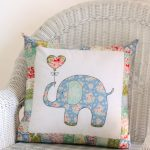 Ella the Elephant Pillow