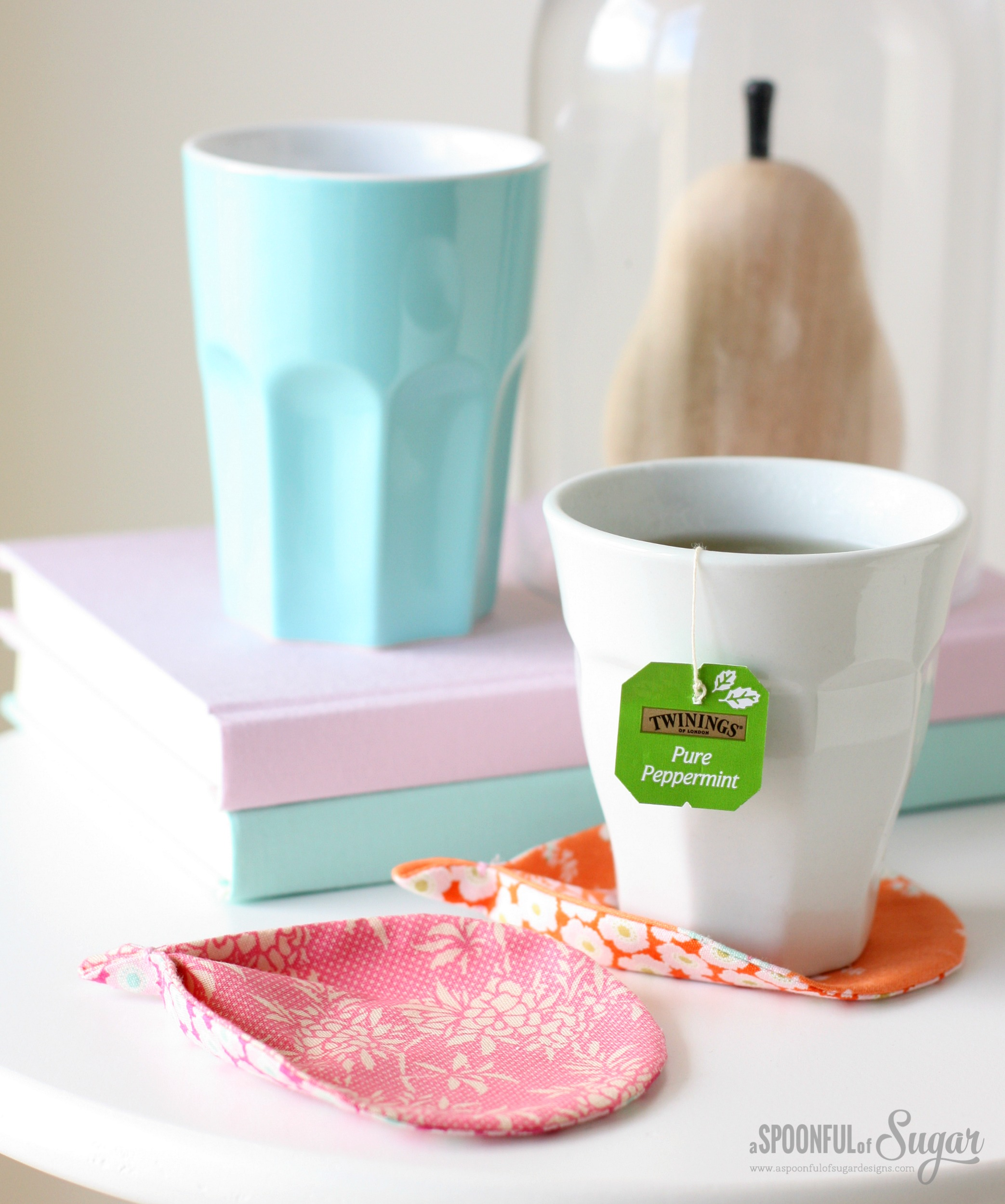 Harvest Leaf Coasters designed by A Spoonful of Sugar