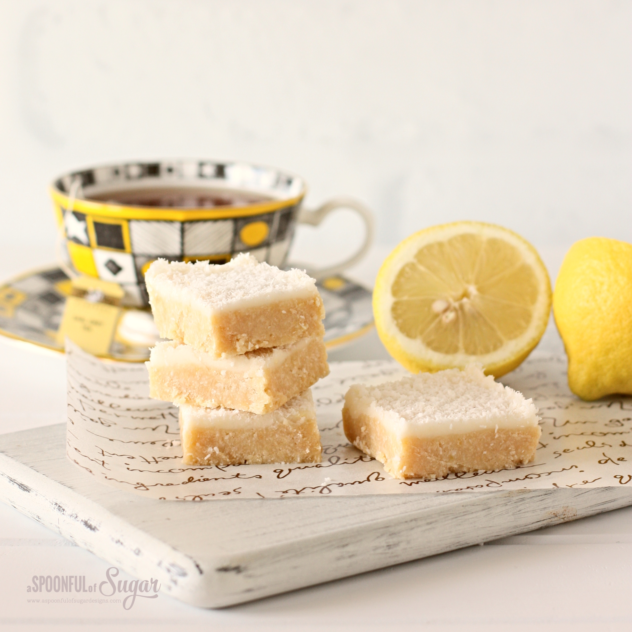 no bake lemon slice