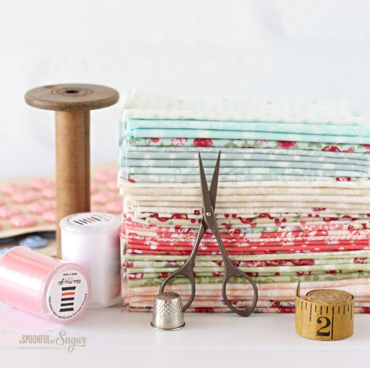 Travel Sewing Kit pdf pattern by A Spoonful of Sugar on Etsy