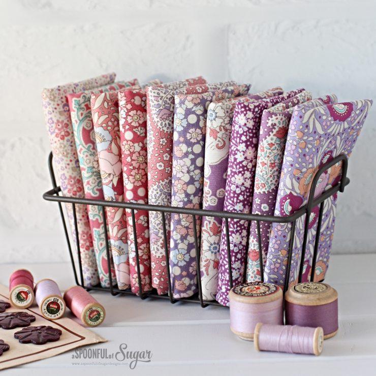 Tilda Plum Garden Fabric