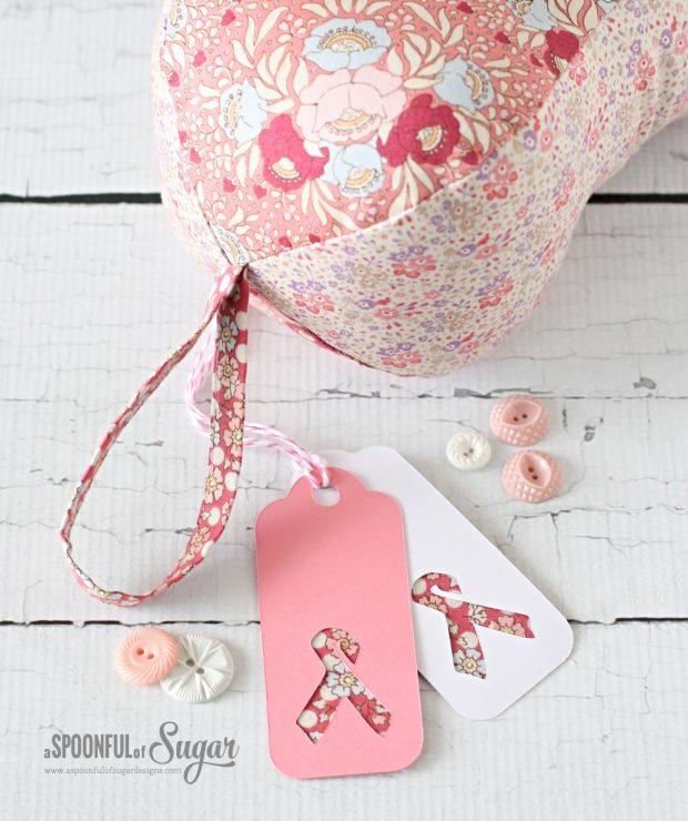 Breast Cancer Peanut Pillow pdf Pattern by A Spoonful of Sugar www.etsy.com/au/shop/aspoonfullofsugar