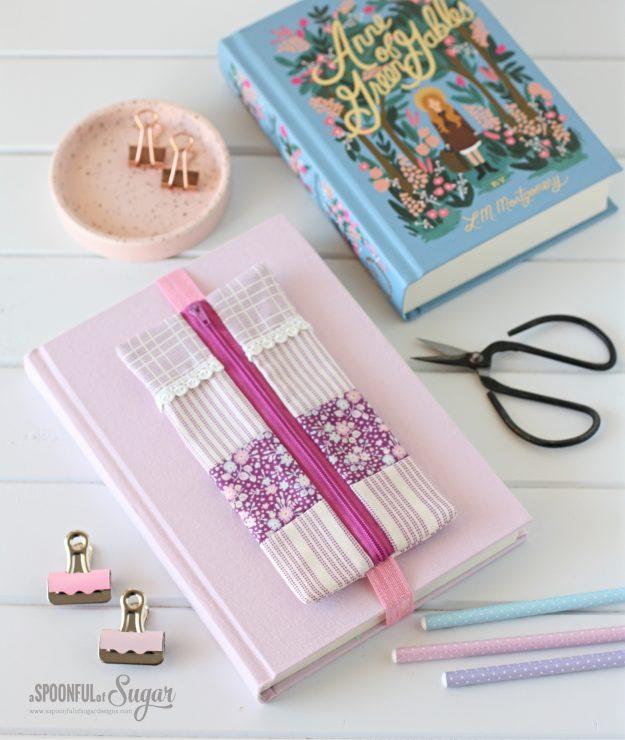 Elastic Pencil Case - ePattern available at www.etsy.com/au/shop/aspoonfullofsugar