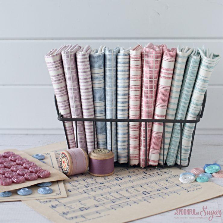 Tilda Tea Towel Fabric Range