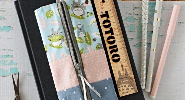 Totoro Elastic Pencil Case