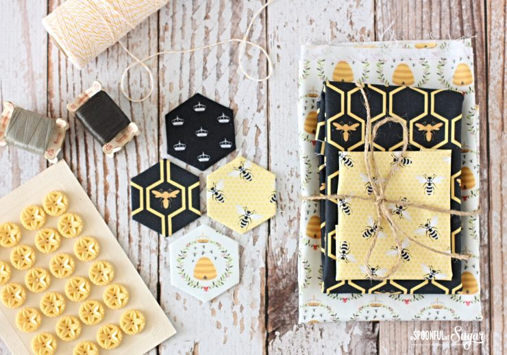 Queen Bee Fabric collection