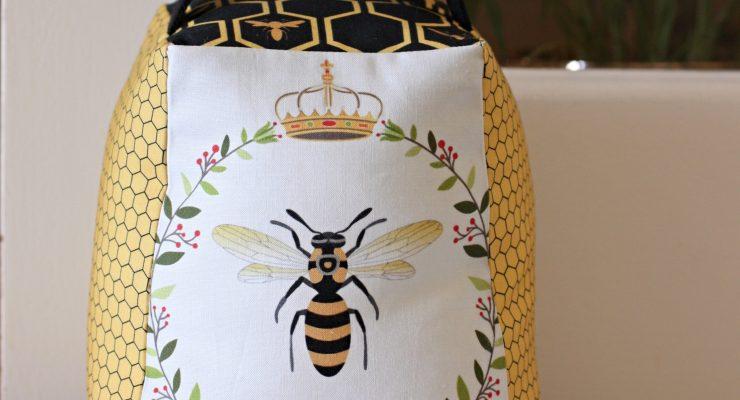 Queen Bee Doorstop