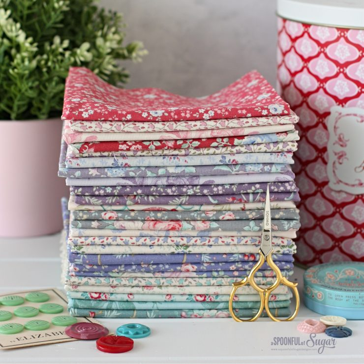 Tilda Old Rose Fabric collection