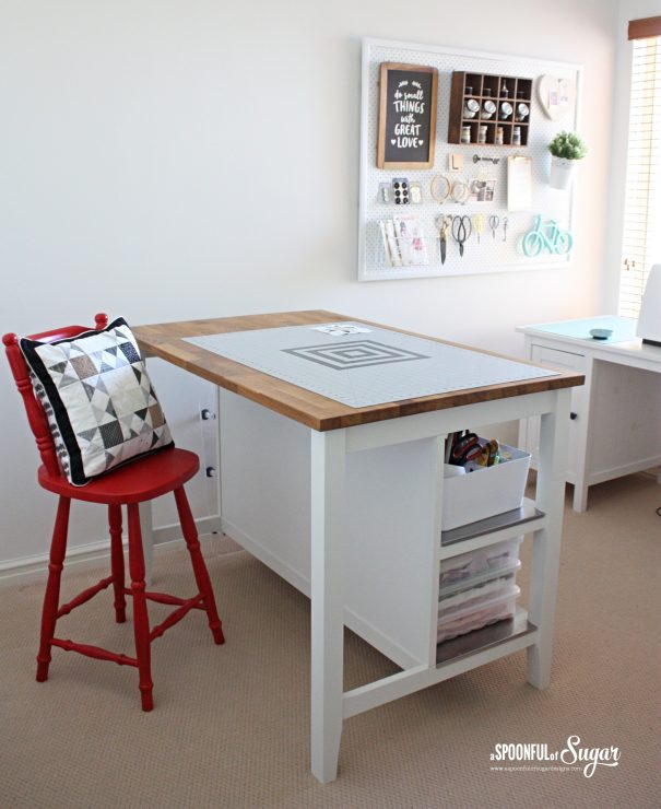 Sewing studio by A Spoonful of Sugar Designs