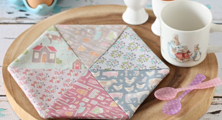 Children's Hexagon Placemat and Coaster Set