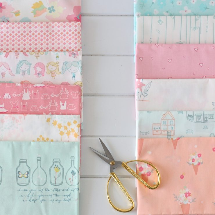 Daydream Fabric by Patty Basemi for Art Gallery Fabrics.