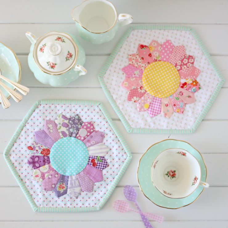 Dresden Placemat PDF Sewing Pattern by A Spoonful of Sugar on Etsy.