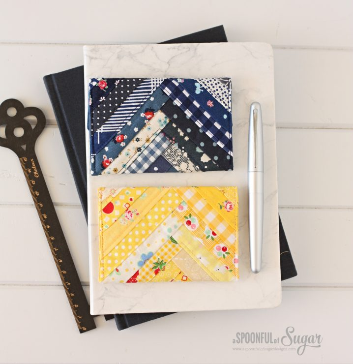 Zakka Card Wallet PDF Pattern by ASpoonfullofSugar (Etsy)