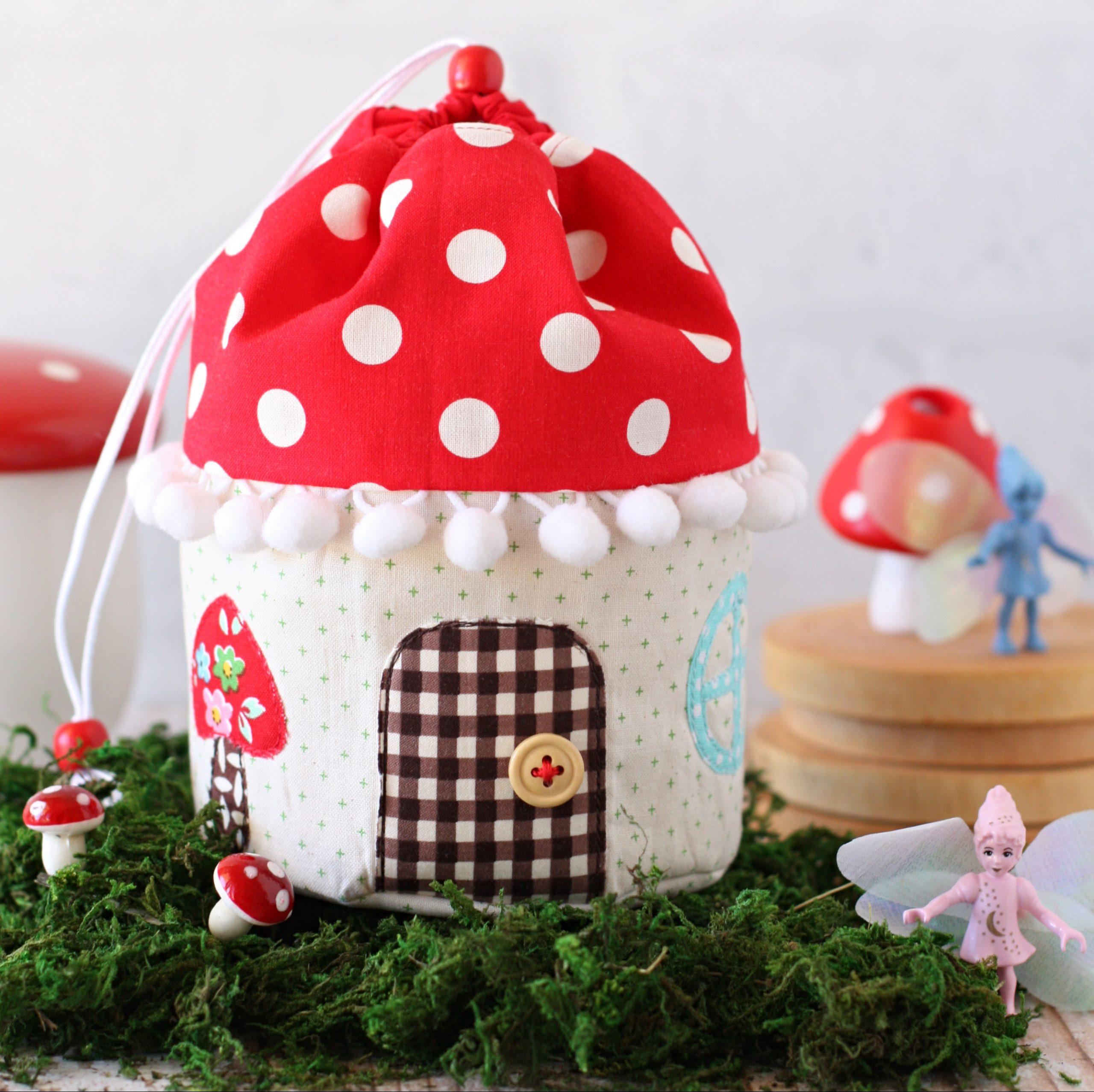 Cupcake Mushroom pouch