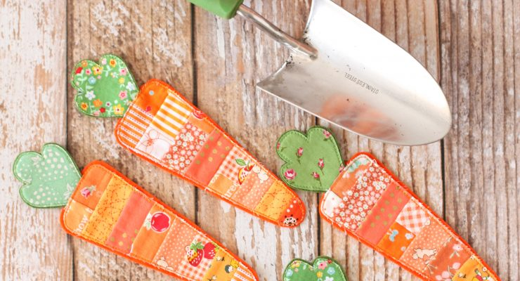 Scrappy Carrot Bunting