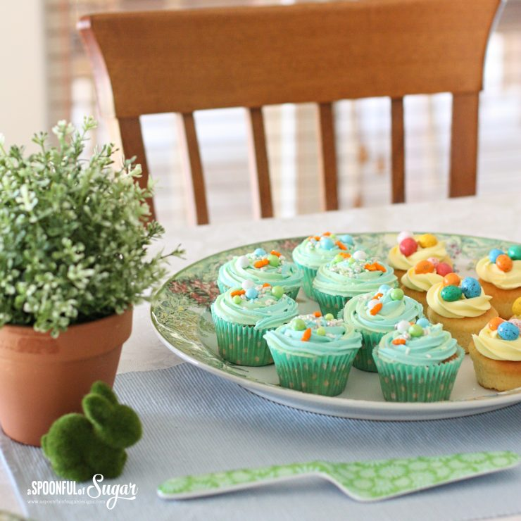 Peter Rabbit inspired high tea by A Spoonful of Sugar Designs.