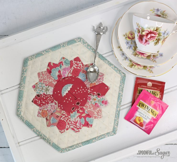 Dresden Placemat PDF Sewing Pattern by A Spoonful of Sugar Designs