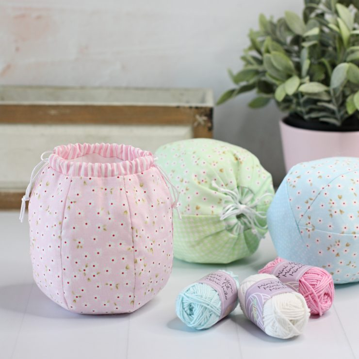 Puff Pouch PDF Sewing Pattern by A Spoonful of Sugar Designs - available in Pattern Store and Etsy Shop.