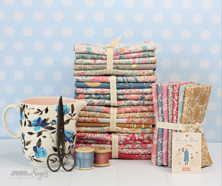 Tilda Windy Days Fabric Collection released in October 2021