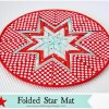 Folded Star Mat
